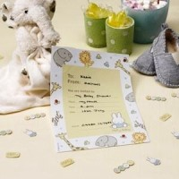 Baby Miffy pack of 10 Invitations