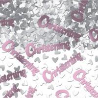Pink Christening Confetti