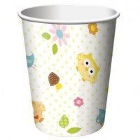A Pack of 8 Happi Tree Hot/Cold Cups