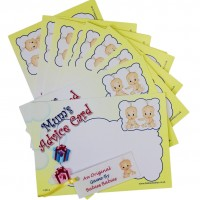 Mum's Advice Cards - Twin Baby
