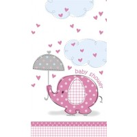 Girl Umbrellaphants Tablecover