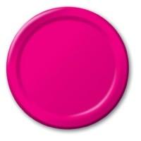 Hot Magenta Pink Plates