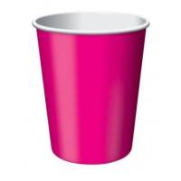 Hot Magenta Pink Cups