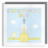 Christening day Greeting Card