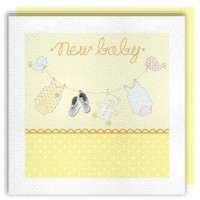 A New Baby Neutral Greeting Card