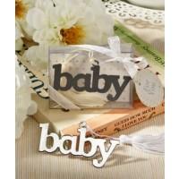 Adorable baby design bookmark favor