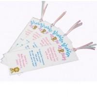 asian baby bookmark