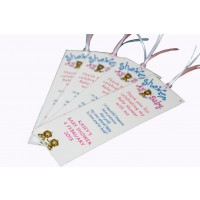 Personalised Bookmark - Twin Ethnic Babies
