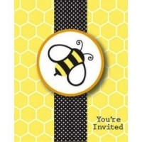 A Buzzie Bee Invitation