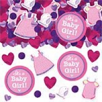 Baby Girl Clothes LIne Confetti