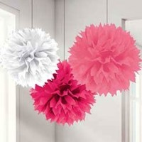 Baby Girl Clothes Lines Pink Pom Pom