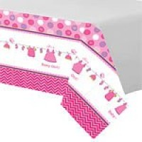 Baby Girl Clothes Line Tablecover