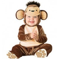 Mischievous Monkey Baby Outfit