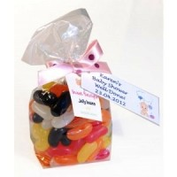 A Bag of Jelly Beans with Personalised Label