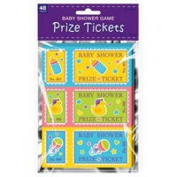 Baby Shower Prize Ticket