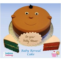ethnic baby shower cake