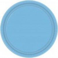 Powder Blue Plates