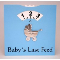 A Baby Feed Wheel - Blue