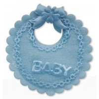 Baby Boy Mini Decorative Bib