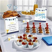 Christening Day Blue Buffet Kit