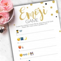 Emoji Baby Shower Game