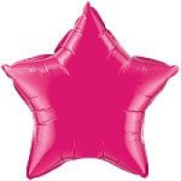 Pink Star Foil Balloon