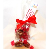 A Bag of Mint Humbugs with Personalised Label