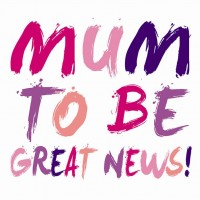 mum to be great news card