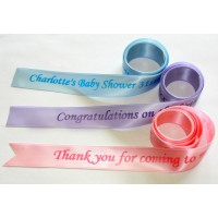 Personalised Satin Ribbon (25mm wide)