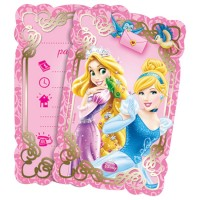Disney Princesses and animals Invites