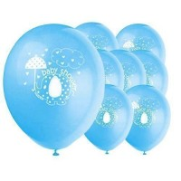 baby boy umbrellephants balloons
