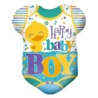 happy baby boy foil