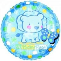 Baby Boy Flitters Foil Balloon