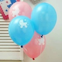 A Pack of Tiny Feet Latex Balloons