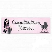A Fabulous Mummy To Be Personalised Banner