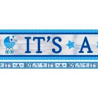 It's a Boy Carriage Banner