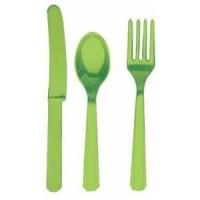 Kiwi Green Cutlery Set
