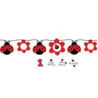 Ladybird Circle Banner
