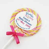 Giant Personalised Swirly Whirly Lollipop