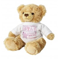 Twinkle Girls Teddy Personalised