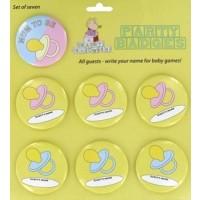 baby shower badges