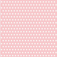Pack of 20 Pink Spot Napkins