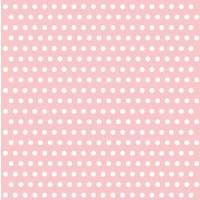 Pack of 20 Pink Spot Napkins