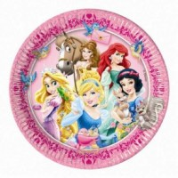 Disney Princesses and Animal Plates