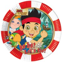 Jake Yo Ho Pirate Plates