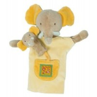 Moulin Roty Elephant Hand Puppet