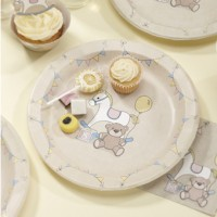 Rock-a-Bye Baby Plates