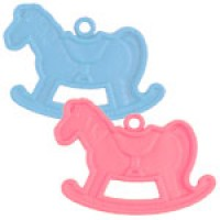 Rocking horse balloon weights