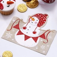 Santa and Friends Napkins - 2ply Paper Pack x 20