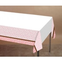 A Pink Wild Safari Large Table Cover